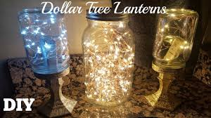diy dollar tree jar lanterns 2017 starry string