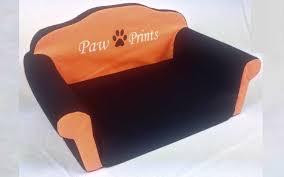 divanetti per gatti cuccia per divanetto nero e arancione medium prezzi e offerte