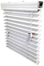 2 Faux Wood Blinds Amazon Com Arlo Blinds Snow White 2 Inches Faux Wood Vinyl