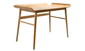 petit bureau bois petit bureau scandinave bureau en chane massif 569eur ha 1 4 bsch
