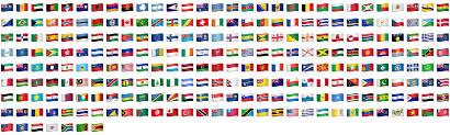 Country Flags Of The World Utr 51 Unicode Emoji