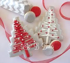 lizy b homespun christmas tree cookie