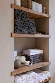 Wooden Shelf Design Ideas by Bedroom Decor On Spa Small Bathroom And Wood Shelf