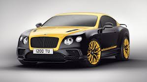 The Bentley Continental 24 Is A Modified 700hp Supersports