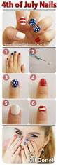 8 diy nail designs perfect for the 4th of july tutorials