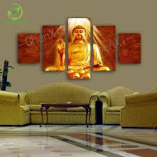 Home Decor Buddha by Buddha Canvas Painting