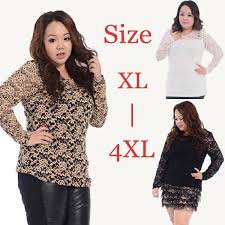 plus size blouses and tops aliexpress com buy 2016 lace tops blouses plus size