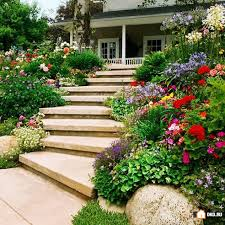 Landscaping Ideas For Sloped Backyard 15 Inspirational Sloped Yard Decoration Ideas That Will Impress