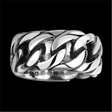 gothic jewelry rings images New punk rock stainless steel mens biker rings vintage gothic jpg