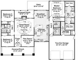 house plans floor master 3 bedrm 2067 sq ft craftsman house plan 141 1075