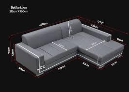 sofa l form mit schlaffunktion sofas ledersofa martin mit bettfunktion bettkasten ecksofa