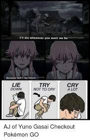 Memes Y U No - 25 best memes about yuno gasai yuno gasai memes