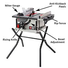 table saw accessories lowes table saw buying guide