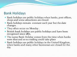 what holidays are banks closed the best 2017