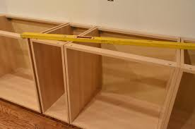 Kitchen Drawers Vs Cabinets Ana White Wall Kitchen Cabinet Basic Carcass Plan Diy Projects