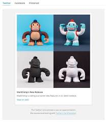 enable and customize social cards mailchimp