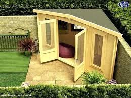 Backyard Room Ideas Small Backyard Sheds Best Corner Sheds Ideas On Small Garden