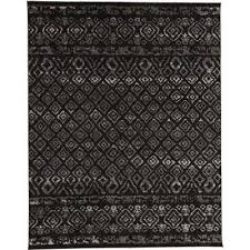 Black Chevron Area Rug 8 X 10 Chevron Area Rugs Rugs The Home Depot