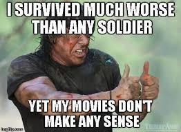 Rambo Meme - rambo approved meme generator imgflip