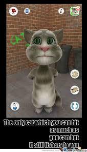 Talking Cat Meme - the talking tom by fakhar nadeem4 meme center