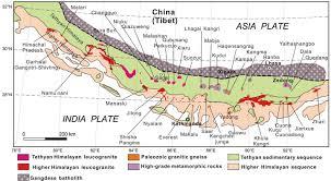 Himalayan Mountains Map Rare Metals In The Himalayas The Potential World Class Treasure