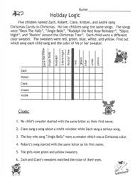 worksheets logic problem coloring books bundles