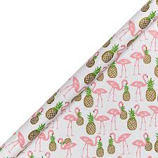 pineapple wrapping paper buy lewis flamingo wrapping paper lewis
