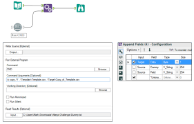 export data to excel in specific cells alteryx community