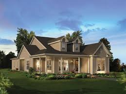 County House Plans by Modren House Plans With Porch One Story Throughout Design Inspiration