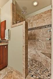Bathroom Tiled Showers Ideas Best 25 River Rock Shower Ideas On Pinterest River Rock