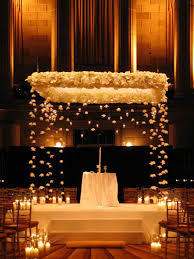 wedding arches with lights 30 winter wedding arches and altars to get inspired weddingomania