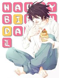 Happy Halloween Birthday Quotes Death Note L Lawliet Death Note Anime Manga Pinterest
