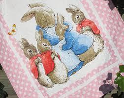 rabbit crib bedding rabbit set etsy