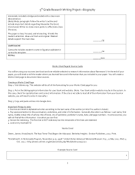 biography book report template 5th grade best 25 biography