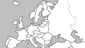 blank map of europe blank map of europe during war ii printable editable blank