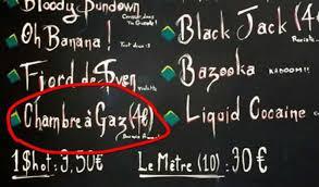 gaz chambre à gaz au sunset boulevard vous pouvez boire un cocktail chambre