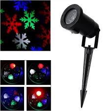 Outdoor Christmas Snowflake Decorations by Aliexpress Com Buy Christmas Snowflake Laser Lights Snow Led