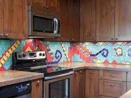 kitchen wonderful patterned tile backsplash black backsplash