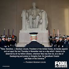 president lincoln s 1864 thanksgiving proclamation in the news