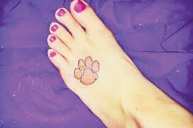 sports clemson paw after national chionship