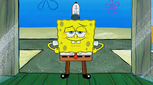 spongebob is wearing square pants not shorts for the first time