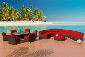 Patio Furniture Las Vegas by Viro Fiber Sectional Sofa U0026 Dining Set Patio Furniture 8