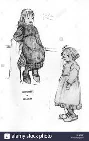 sketches by cecil aldin in his autobiography time i was dead
