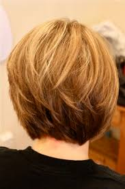 bob hairstyle with stacked back with layers layered hairstyles back view back view of stacked bob