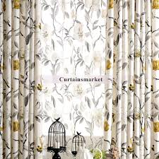 Ivory Linen Curtains And Leaf Ivory Linen Curtains