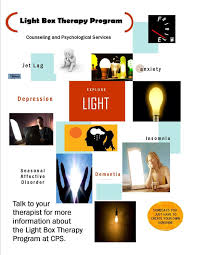light therapy for depression and anxiety light box therapy