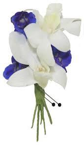 orchid boutonniere blue delphinium orchid boutonniere cbbpas04 flower patch