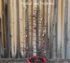 rustic twig christmas tree meatloaf and melodrama