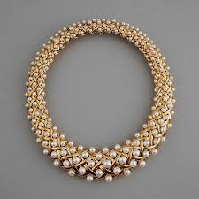necklace gold pearl images Chanel paris gold and pearl necklace the silver fund jpg