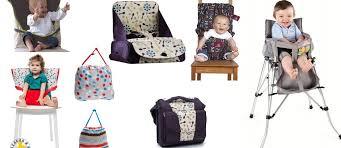 chaise nomade baby to siège bébé nomade comparatif pour bien choisir voyages et enfants